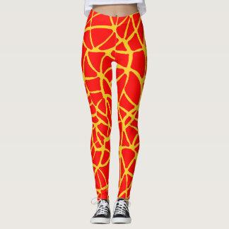 Leggings motif de girafe