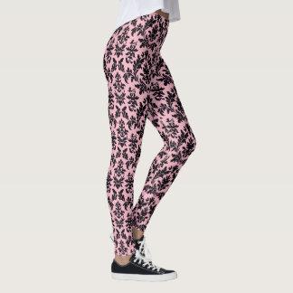 Leggings Motif rose de panthère