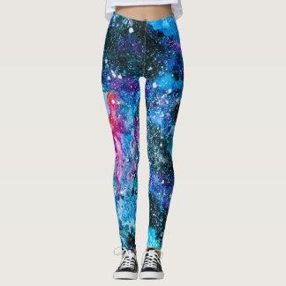 Leggings Pantalon de galaxie