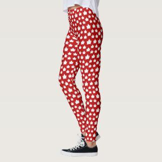 Leggings Pantalon de souvenir du Canada d'amusement de