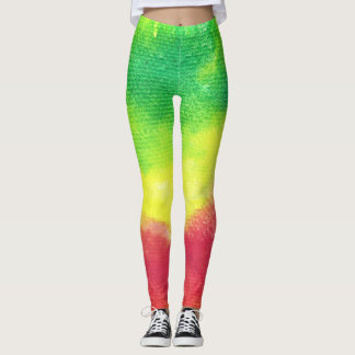 Leggings Pantalon de yoga de guêtres de texture