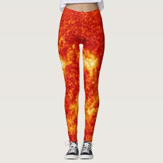 Leggings Pantalon sur le feu