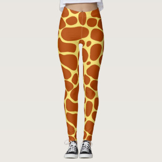 Leggings Peaux de girafe