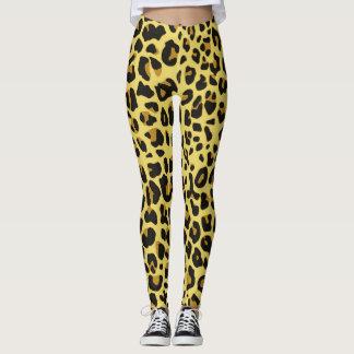 Leggings Peaux de léopard