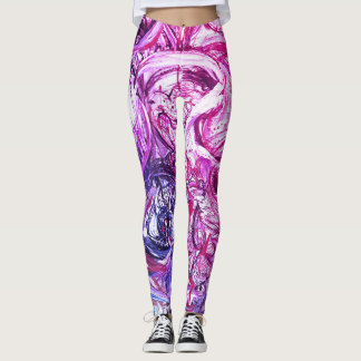 Leggings Peinture abstraite