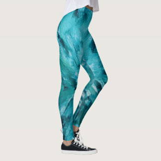 Leggings Peinture abstraite 7 de Marta