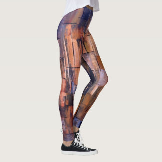 Leggings Peinture abstraite 8 de Marta