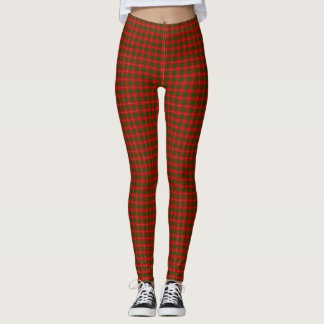Leggings Plaid de tartan de Crawford