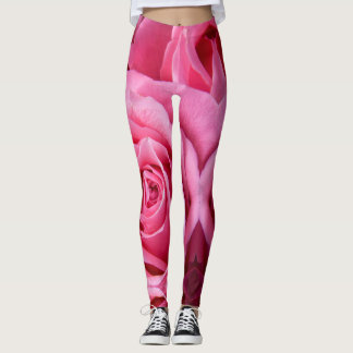 Leggings Rose de rose