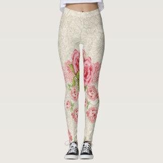 Leggings Roses roses