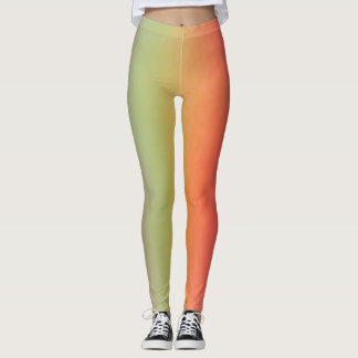 Leggings Sorbet d'arc-en-ciel