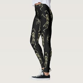 Leggings Squelettes de danse