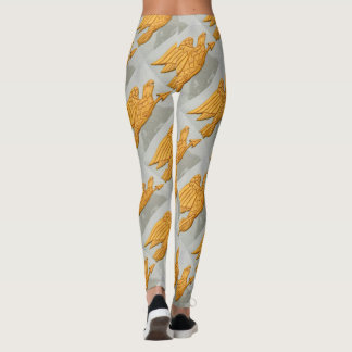 Leggings voler d'aigles d'or