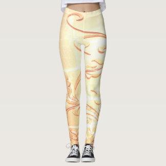 Leggings Vrille d'or