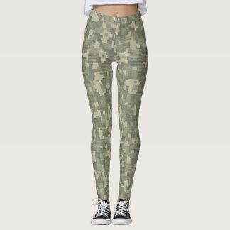 Leggings Yoga serré de pantalon de guêtres de camouflage de