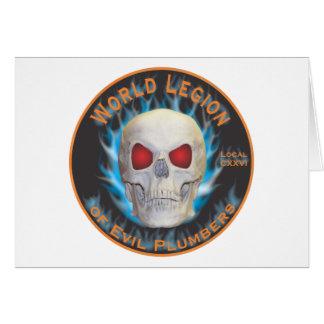 Légion de plombiers mauvais carte