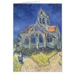 L'église à l'Auvers-sur-Oise Carte De Vœux
