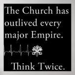 L'église a survécu à chaque affiche principale d'e