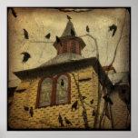 L'église de la corneille affiche