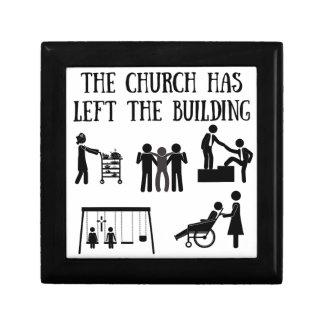 L'église est partie du bâtiment boîte à souvenirs
