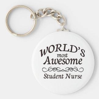 L'élève-infirmière la plus impressionnante du porte-clé rond