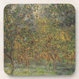 Lemon Grove dans Bordighera par Claude Monet Dessous-de-verre