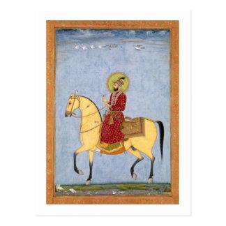 L'empereur Farrukhsiyar (1683-1719) de Mughal Cartes Postales