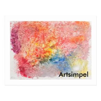 L'énergie carte de courrier Artsimpel