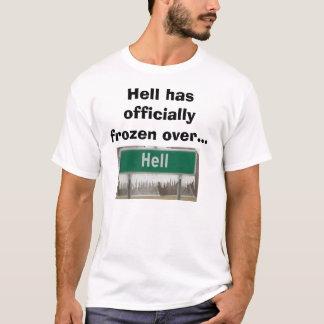 L'enfer gèle au-dessus de l'enterrement de vie de t-shirt
