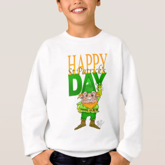 Lenny l'illustration de lutin, sur un sweatshirt