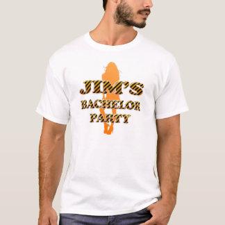 L'enterrement de vie de jeune garçon de JIM T-shirt