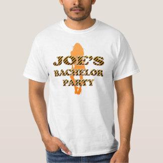 L'enterrement de vie de jeune garçon de Joe T-shirt