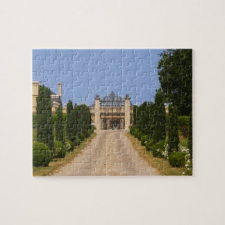 L'entrée imposante au château Haut Sarpe, Puzzle