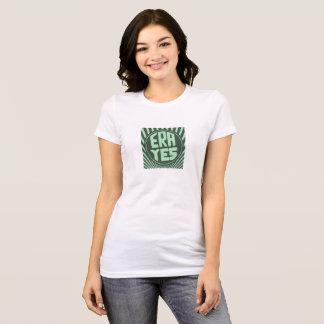 L'ÈRE OUI Starbucks forment le T-shirt vert-foncé