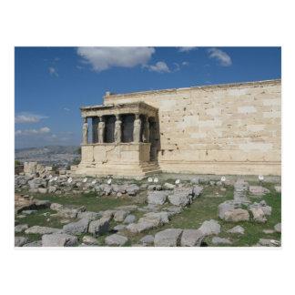 L'Erecthion fait partie d'Acropole du grec ancien Cartes Postales