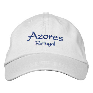 Les Açores Portugal Casquette Brodée