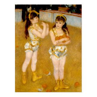 Les acrobates de Renoir chez le Cirque Fernando Carte Postale