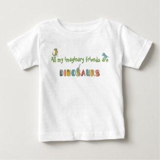 Les amis imaginaires sont T-shirt de bébé de