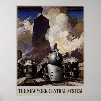 Les années 1930 vintages - système central de New
