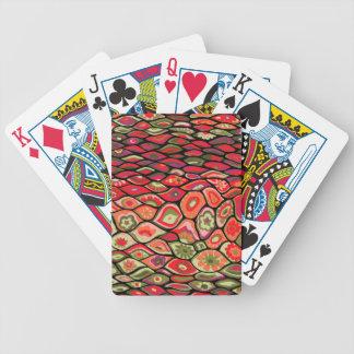 les années 70 psychédélique cartes à jouer