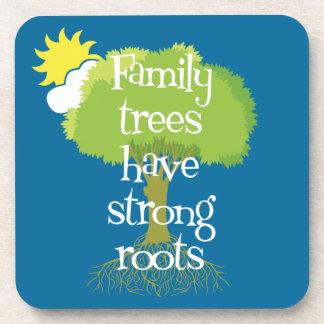 Les arbres généalogiques ont les racines fortes dessous-de-verre