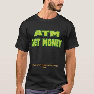 Les atmosphères obtiennent l'argent t-shirt
