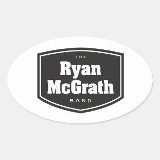 Les autocollants de bande de Ryan McGrath
