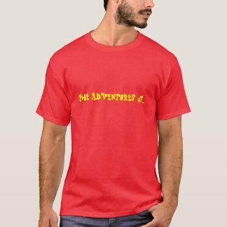 Les aventures de… t-shirt