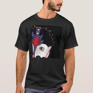 Les aventures du T-shirt de plan rapproché d'homme