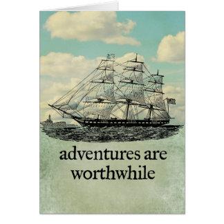 Les aventures sont carte valable