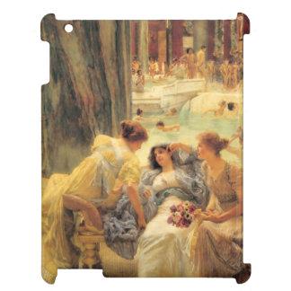 Les bains de Caracalla par Lawrence Alma-Tadema Coque iPad