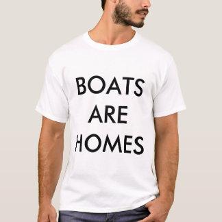 Les bateaux sont T-shirt de maisons