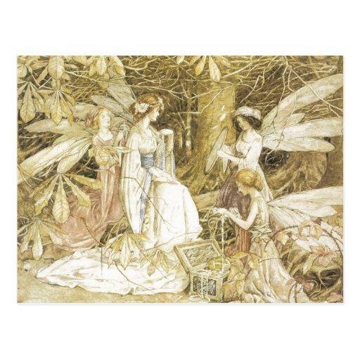 Les bijoux de fée carte postale
