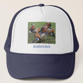 Les canards de mandarine ont conçu le casquette